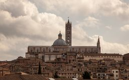 The Cathedral of Sienna Royalty Free Stock Photos