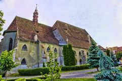 Cathedral of Sighisoara royalty free stock photos