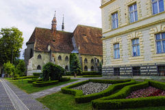 Cathedral of Sighisoara royalty free stock photo