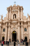 Cathedral of Siracusa Royalty Free Stock Photo