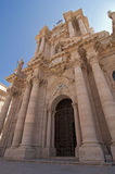 Cathedral in Siracusa Royalty Free Stock Photos