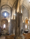 Cathedral of Sisteron, interior Stock Images