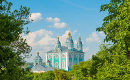 Cathedral in Smolensk Royalty Free Stock Photos