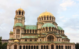 Cathedral of Sofia, Bulgaria Stock Photography