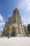 Cathedral of Soissons Stock Photo
