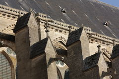 Cathedral of Soissons in Picardie, France Stock Image
