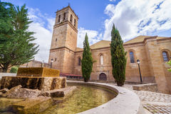 The Cathedral of Soria. Castilla y Leon, Spain. It is an example of romanic architecture Royalty Free Stock Photography