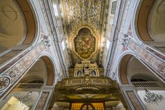 The cathedral of Sorrento campania, Italy Stock Photos