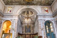 The cathedral of Sorrento campania, Italy Stock Image