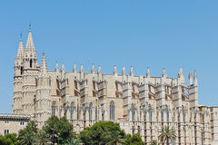 Cathedral in Spain Stock Photo