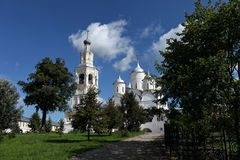 Cathedral Spaso-Prilutsky Monastery Royalty Free Stock Images