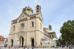 Cathedral of Speyer Royalty Free Stock Photography