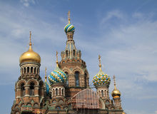 Cathedral of the Spilled Blood royalty free stock photos