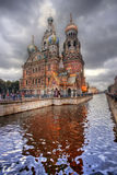 The Cathedral of the Spilled Blood Royalty Free Stock Image