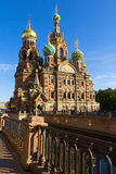 Cathedral on the Spilled Blood, St Petersburg Royalty Free Stock Images