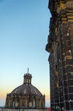 Cathedral Spire and Dome Royalty Free Stock Photography