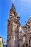 Cathedral Spire Tower Toledo Spain Stock Photo