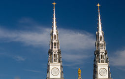 Cathedral Spires Stock Images