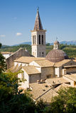 Cathedral Spoleto, Italy Stock Photography