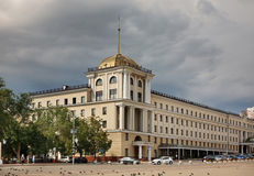 Cathedral Square in Belgorod. Russia Royalty Free Stock Photography