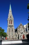 Cathedral Square, Christchurch stock photos