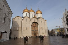 Cathedral Square in Kremlin. Moscow. Russia. Royalty Free Stock Image