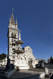 Cathedral square of Messina and its monuments Royalty Free Stock Photography