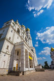 Cathedral Square of Moscow Kremlin in Russia Stock Photography