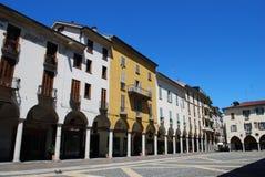 Cathedral square, Novara Royalty Free Stock Image