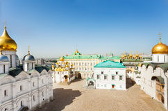 Cathedral Square with Palace of Facets top view. View from top of The Palace of the Facets, Patriarch's Palace and the Church of the Twelve Apostles, Upper stock images