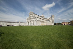 The cathedral square pisa tuscany italy europe Royalty Free Stock Photography