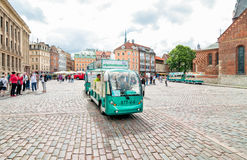 Cathedral Square of Riga, Latvia Royalty Free Stock Images
