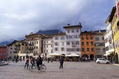 Cathedral Square - Trento Trentino Italy Stock Images