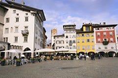 Cathedral Square - Trento Trentino Italy Royalty Free Stock Photos