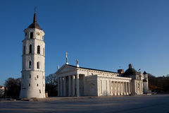 Cathedral square in Vilnius Royalty Free Stock Photo