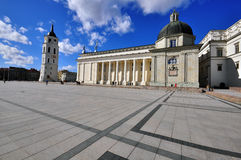 Cathedral square, Vilnius Royalty Free Stock Images