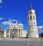 Cathedral square, Vilnius Royalty Free Stock Image