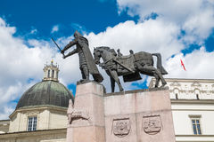 Cathedral Square, Vilnius, Lithuania. Royalty Free Stock Photos
