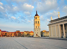 Cathedral square, Vilnius Royalty Free Stock Photo