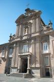 Cathedral of the SS. Trinity, Cava de Tirreni Stock Photo