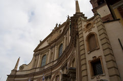 Cathedral of St. Ambrose Vigevano. Italy Royalty Free Stock Images