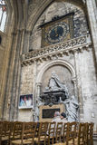 Cathedral of St. Andre in Bordeaux, France Stock Image