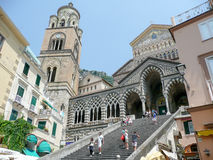 Cathedral of St Andrea in Amalfi, Italy Stock Image