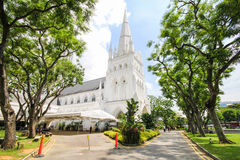 Cathedral of St Andrew in Singapore Stock Photo