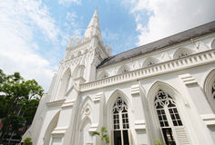 Cathedral of St Andrew in Singapore, largest cathedral in Singapore Stock Photography