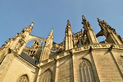The Cathedral of St. Barbara Church in Kutná Hora, Czech Republic Stock Photo