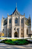 Cathedral of St. Barbara in Kutna Hora Royalty Free Stock Photo