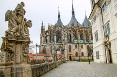 Cathedral of St. Barbara in Kutna Hora, Czech Republic Stock Photography