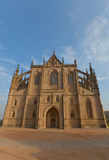 Cathedral of St Barbara in Kutna Hora. UNESCO site Stock Image