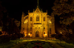 Cathedral of St. Barbora Royalty Free Stock Photo